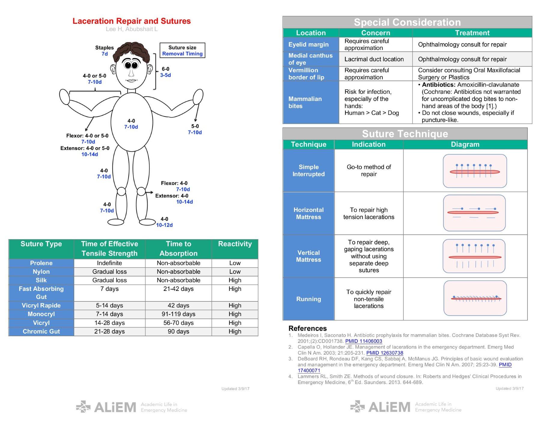 Skin Laceration Repair Manual Guide