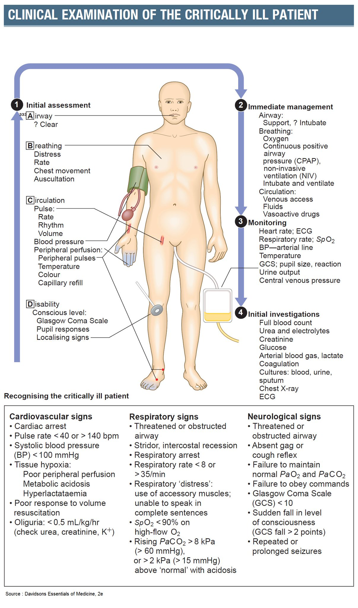 Clinical Examination of the Critically Patient  #PhysicalExam #CriticalCare #Evaluation #Diagnosis
